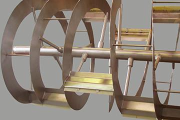 JH Stålindustri rustfri mixer, røreværk og rammerøreværk